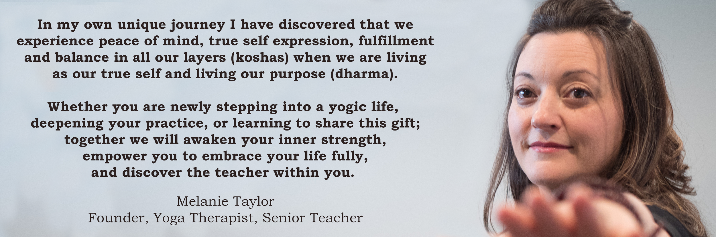 Life of Wellness Institute - ViniYoga Teacher Training